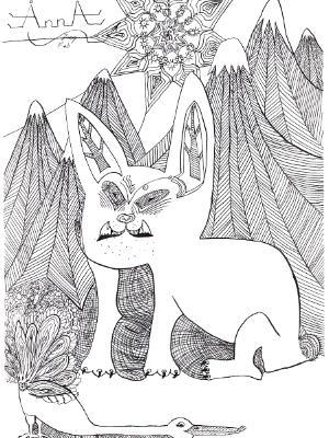"""Carnivorous Bunny"""