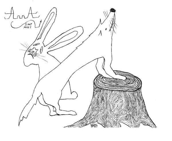 """Fox and Rabbit"""